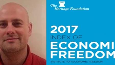 Indeks ekonomske slobode 2017 Hrvatska 95