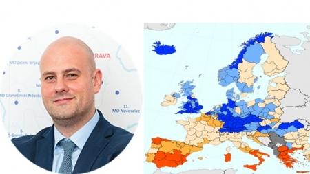 Tri europska pojasa vrlo niske nezaposlenosti