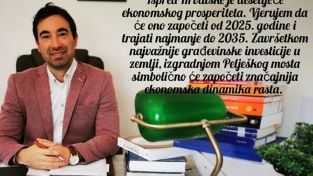 Ispred Hrvatske je desetljeće ekonomskog prosperiteta
